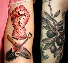 1000 images about tattoos on pinterest chef tattoo for Garden tattoos designs