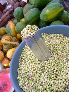 "Aracaju, Brazil Market -""Feijao De Corda"" (Beans) - Photo by Dan Trepanier"