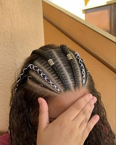 Cute Hairstyles For Teens, Teen Hairstyles, Braided Hairstyles, Afro Braids, Long Braids, Protective Hairstyles, Curly Hair Styles, Dreadlocks, Lace