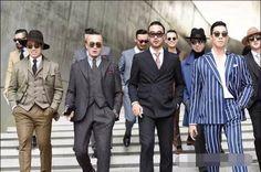 We love Korean men's fashion :)   sneakoutfitters.com #sneakoutfitters #koreanmensfashion #menswear #menfashion #menclothing