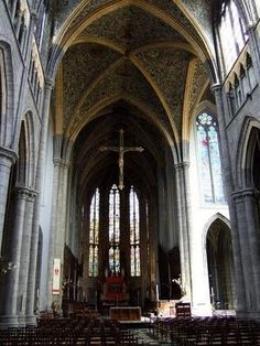 Art Saint Pauls Cathedral in Liege travel-and-places
