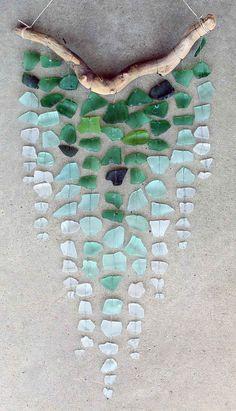 Sea Glass & Driftwood Mobile                                                                                                                                                                                 More