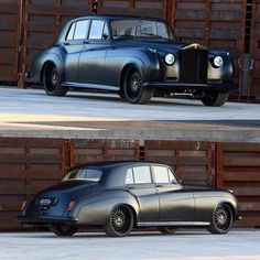 1961 Rolls Royce flat black right hand drive and an LS7 #fesler #feslerbuilt #feslernation #flatblack #1961 #rollsroyce #righthanddrive #ls7 #gm #custom #badass #carporn #carswithoutlimits #fourwheelporn #hotrod #muscle #musclecar #sick #greypoupon #lol