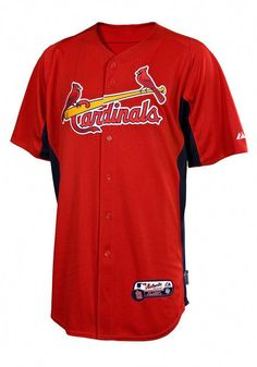 3d7494445 Louis Cardinals Authentic Cool Base Batting Practice Baseball Jersey our  fab baseball team