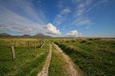 Howmore machair track