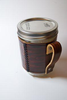 https://www.etsy.com/listing/111630666/leather-wrapped-mason-jar-mug