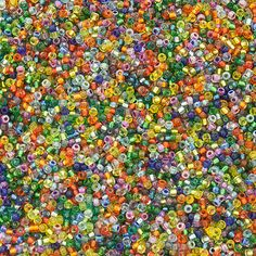 11/0 Miyuki Seed Bead Mix, Rainbow