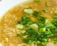 This tasty egg drop soup recipe will make the perfect lunch idea while using the Dash Diet. The addition of Tabasco gives this soup an extra kick!