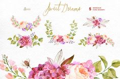 Sweet Dreams. Floral Collection - Illustrations - 2