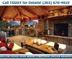 Rolling Ridge Deck - Decks Colorado, Decking Railing Companies Denver, Evergreen Colorado Deck Builders