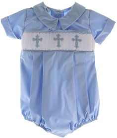 Smocking for baby boy i love this but my son in law - Taufe outfit junge ...