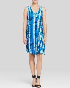 THREE DOTS Tie Dye Tank Dress. #threedots #cloth #dress