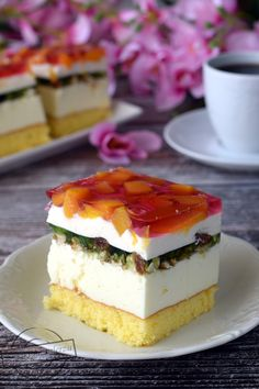 Polish Recipes, Sweet Recipes, Jelly, Cake Decorating, Cheesecake, Food And Drink, Baking, Foodies, Cakes