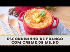 Escondidinho de Frango com Creme de Milho | Receitas de Minuto - A Solução prática para o seu dia-a-dia!