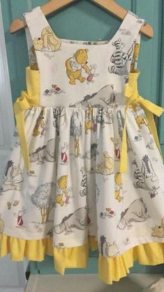 Kids Wear - Buy Kids Clothes & Dresses for Girls Baby Girl Dress Patterns, Little Dresses, Little Girl Dresses, Baby Dresses, Girls Dresses, Toddler Outfits, Kids Outfits, Baby Frocks Designs, Sewing Kids Clothes