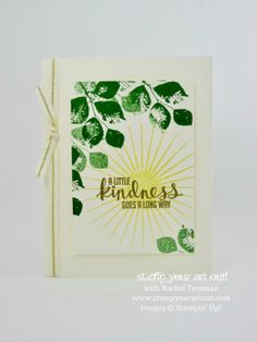 Sunshine card made with Kinda Eclectic stamp set…#stampyourartout - Stampin' Up!® - Stamp Your Art Out! www.stampyourartout.com