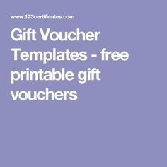 gift voucher templates free printable gift vouchers voucher template free templates printable free