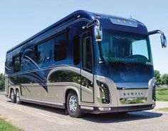 Newell coaches receive a high-gloss shine.