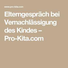 Elterngespräch bei Vernachlässigung des Kindes – Pro-Kita.com