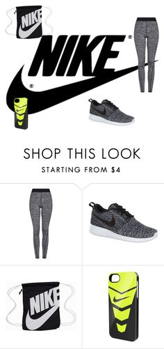 """""""nike"""" by kylagregg on Polyvore featuring interior, interiors, interior design, home, home decor, interior decorating, NIKE and Topshop"""