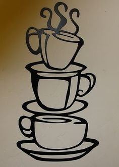 """Kitchen Metal Wall Art details about ahh! coffee cup metal wall art decor 10 1/2"""" tall"""