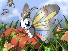 Pokedex Projekt : Beautifly by ~xXLukidaXx on deviantART