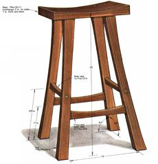 Building a Stool - Fine Woodworking Article