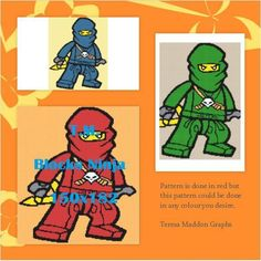Looking for your next project? You're going to love Building Blocks Ninja 150x182 by designer Teresa Maddon. http://www.craftsy.com/pattern/crocheting/home-decor/building-blocks-ninja-150x182/171694
