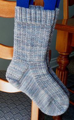 Charade socks in Shadow colourway -love the simple design