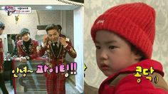 G-Dragon asks Tablo why his daughter Haru is so cute | http://www.allkpop.com/article/2014/03/g-dragon-asks-tablo-why-his-daughter-haru-is-so-cute