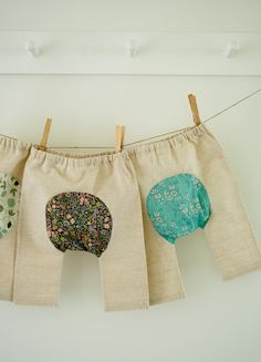these pants!! Corinnes Thread: Baby Pants - The Purl Bee - Knitting Crochet Sewing Embroidery Crafts Patterns and Ideas!