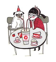 pug party bday