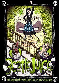 Beetlejuice - movie poster - James Stayte