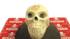 Vintage Skull Gear Shift Knob Halloween by UrbanRenewalDesigns, $48.00