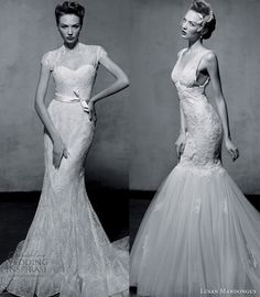 Our top 2 picks from Lusan Mandongus 2013 Wedding Dress Collection