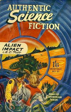 Authentic Science Fiction #21 (May 1952)