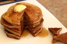 Banana Buckwheat Pancakes that are vegan, gluten free AND sugar free! Say what?!