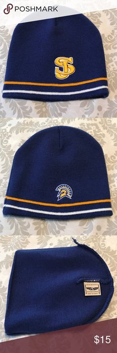 San Jose State University Trojans beanie San Jose State University Trojans beanie with no tag but never worn. Excellent condition. Top of the World Accessories Hats