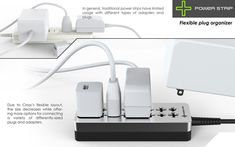 Powerstrip - Plug in your electronics in all directions