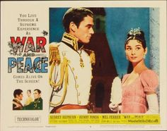 War and Peace - Lobby card