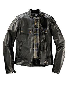 Belstaff Pure Motorcycle Herrenlederjacke Donington