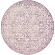 5' & 6' Purple Area Rugs You'll Love | Wayfair