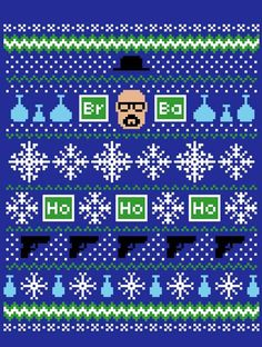 HEISENBERG HOLIDAY SWEATER T-Shirt - Breaking Bad T-Shirt is $12 today at Once Upon a Tee!