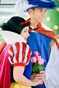 Snow White and the Prince by hayleythehatter, via Flickr