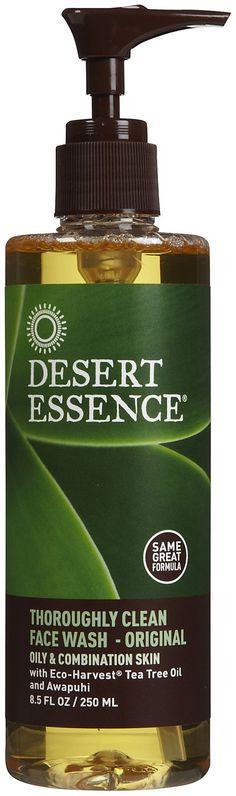 Desert Essence Thoroughly Clean Face Wash, Original, 8.5oz -