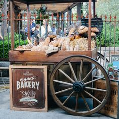 The Grounds of Alexandria's Organic Bakery