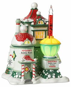 Department 56 Collectible Figurine, North Pole Village Pip & Pop's Bubble Works