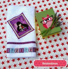 Mira este artículo en mi tienda de Etsy: https://www.etsy.com/es/listing/400037607/gorjuss-decorated-towel-30x50cm-personal