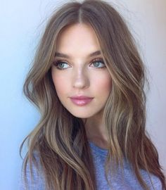 A hair colour that would be pretty on many Light Summer. Beige base, not brown. Slight pink tones for Summer skin.