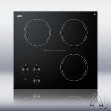 Smoothtop Not Induction Cooktops Exterior Width: 12 - 24